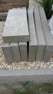 Tiefbordsteine Grau 100x30x8cm -
