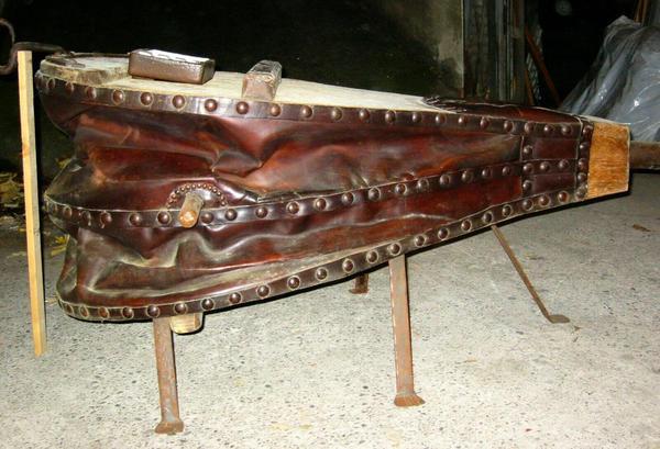Tisch kamin tisch antiker blasebalg tisch rarit t antik for Schreibtisch 1m tief