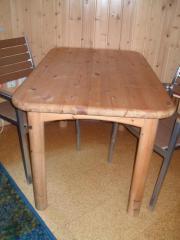 Tisch, Kiefer massiv