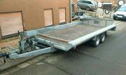 trailer tieflader autohänger