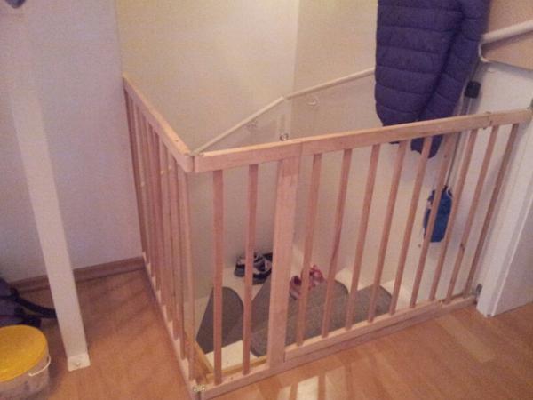 Treppenschutzgitter Ecke