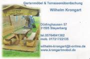 Überdachte Gartenmöbel aus