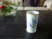 Vase - Blumendekor - Höchst,