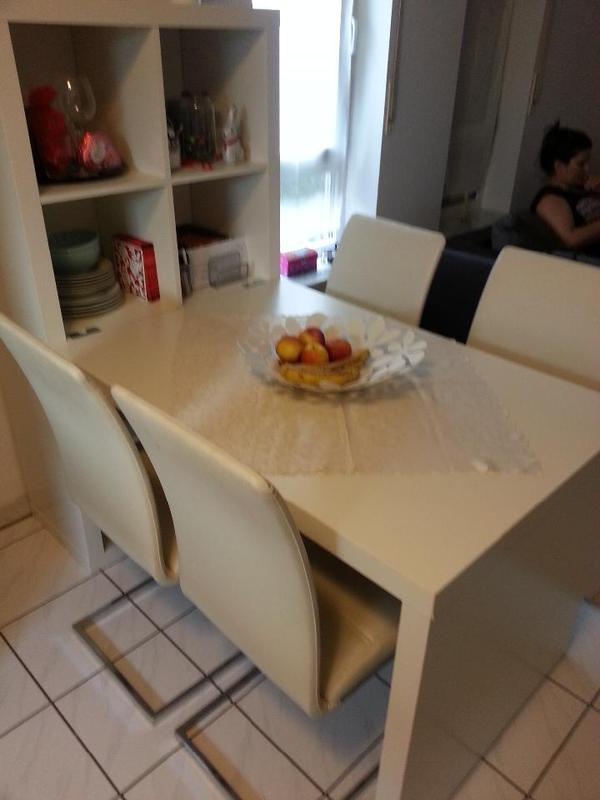 verkaufe k chentisch mit st hlen in bruchsal. Black Bedroom Furniture Sets. Home Design Ideas