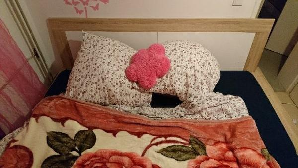 verkaufe sehr gut erhaltenes massivholzbett in n rnberg betten kaufen und verkaufen ber. Black Bedroom Furniture Sets. Home Design Ideas