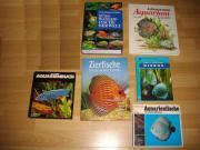 Verschiedene Aquarium Bücher