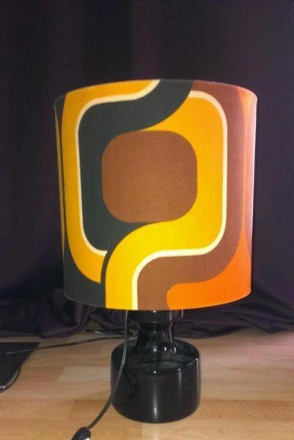 vintage 70er retro lampe original in eschbach lampen kaufen und verkaufen ber private. Black Bedroom Furniture Sets. Home Design Ideas