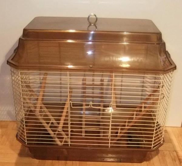 vogelk fig k fig v gel wellensittich braun 48 x 45 x 30 cm. Black Bedroom Furniture Sets. Home Design Ideas