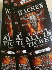 Wacken 2017 Ticket