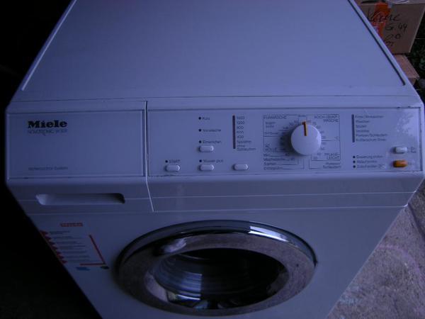waschmaschine miele novotronic w 309 in erligheim waschmaschinen kaufen und verkaufen ber. Black Bedroom Furniture Sets. Home Design Ideas