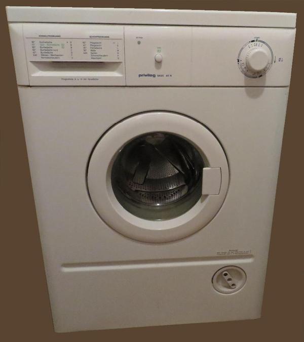 waschmaschine privileg basic 60 n in tuntenhausen waschmaschinen kaufen und verkaufen ber. Black Bedroom Furniture Sets. Home Design Ideas