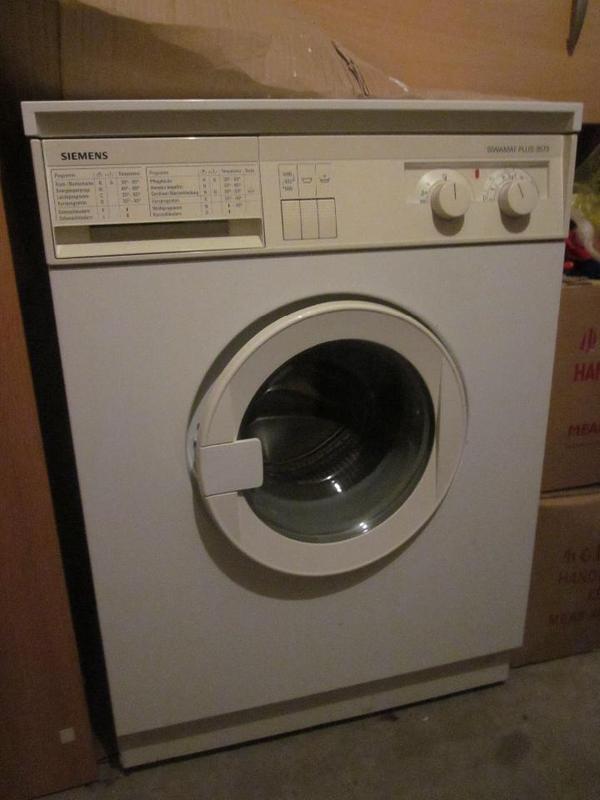 waschmaschine siemens siwamat plus 3573 in alsbach. Black Bedroom Furniture Sets. Home Design Ideas