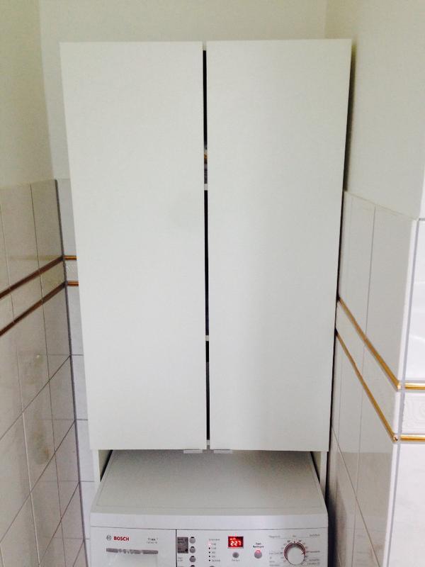 waschmaschinenschrank in heidelberg bad einrichtung und. Black Bedroom Furniture Sets. Home Design Ideas