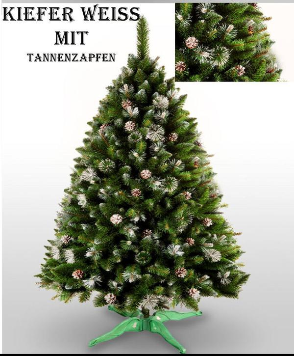 weihnachtsbaum k nstlich tannenbaum christbaum neu zapfen kiefer in markt schwaben dekoartikel. Black Bedroom Furniture Sets. Home Design Ideas