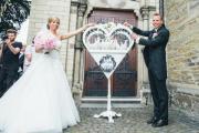 Weiße Hochzeitstauben Köln-