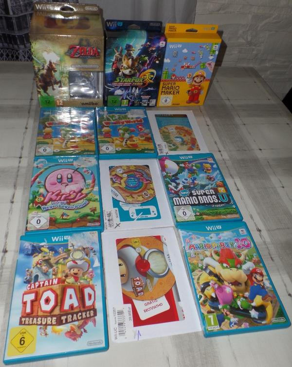 Wii U Spiele » Nintendo, Gerät & Spiele