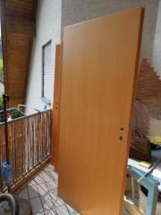 Wohnraumtür / Tür Buche (