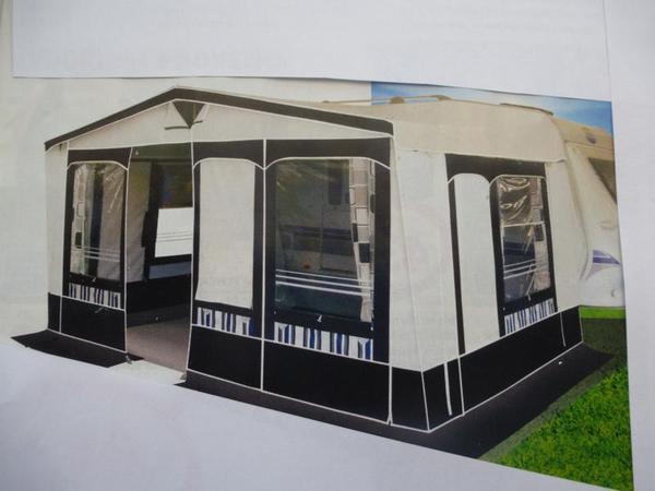 wohnwagen vorzelt neu ovp xxl hypercamp provence 275. Black Bedroom Furniture Sets. Home Design Ideas