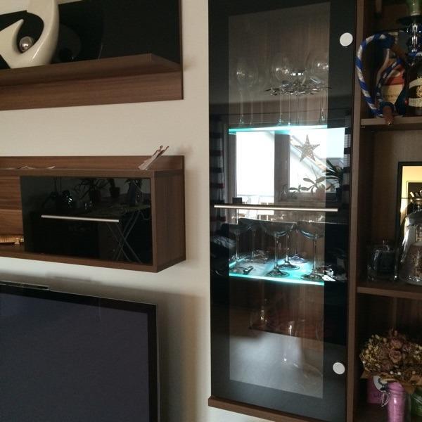 wohnwand weiss neu und gebraucht kaufen bei. Black Bedroom Furniture Sets. Home Design Ideas