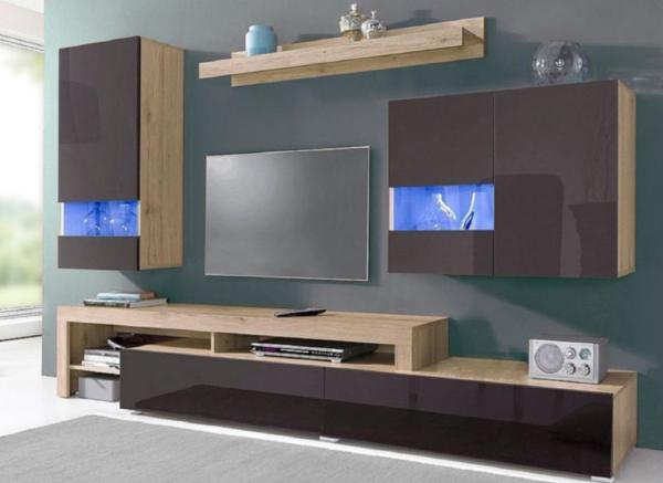 Wohnzimmerschrank roller m bel und heimat design inspiration - Wohnwand bei roller ...