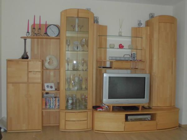 wohnzimmerschrank buche massiv in sch llkrippen wohnzimmerschr nke anbauw nde kaufen und. Black Bedroom Furniture Sets. Home Design Ideas