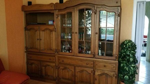 eiche rustikal wohnzimmer - Ebay Wohnzimmerschrank