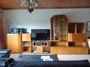 Wohnzimmerschrank, Kirschholz, variabel