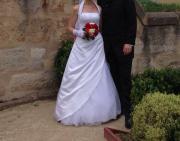 Wunderschönes Brautkleid weiß