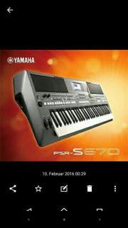 yamaha PSR-S