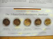 ZWEI EURO GEDENKMÜNZEN -