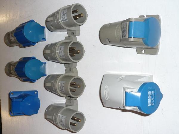 1 Paket CEE Cekonsteckdosen und