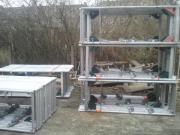 1002 m² gebrauchtes Alu Gerüst