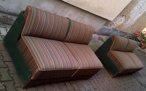Antik möbel sofa  1950er-Jahre Wirtschaftswunder Ludwig Erhardt Antik Möbel 2 Sofas ...
