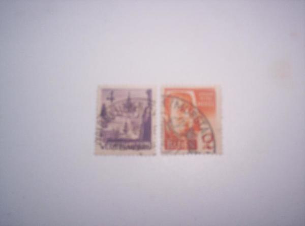 2 Briefmarken aus » Briefmarken