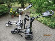 2 Golf-Elektrotrolleys,