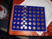 2 Kursmünzen Sätze Estland 2011