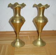 2 Messingvasen