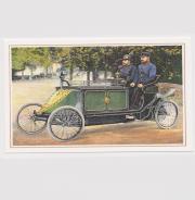 2 versch Ansichtskarten motorisierte Zustellfahrzeuge