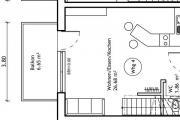 2-Zimmer Maisonett.