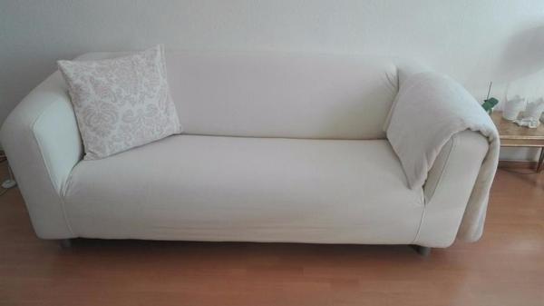 2er sofa ikea  2er Sofa, cremeweiss in Murnau - IKEA-Möbel kaufen und verkaufen ...