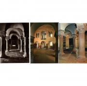 3 Ansichtskarten vom Kloster Corvey