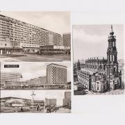 3 ungebrauchte Ansichtskarten von Dresden