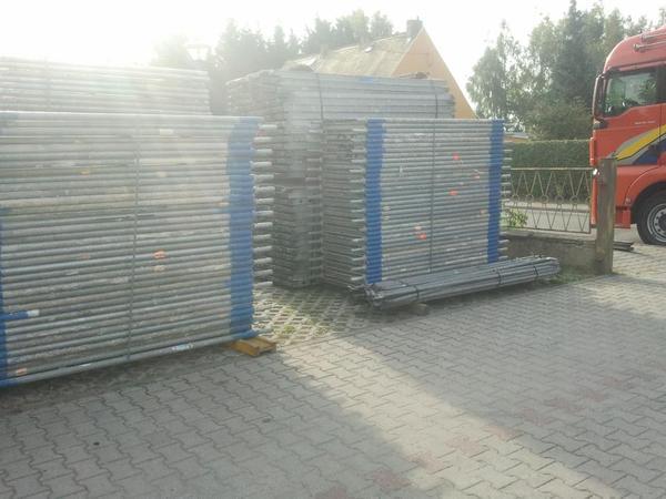 304 m² gebrauchtes Gerüst Layher