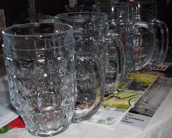 4 Bierkrüge