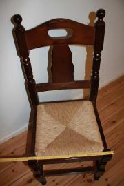 ... 4 Esszimmerstühle Stuhl Spanische Stühle Mit Flechtsitzen Holzstühle:  Kleinanzeigen Aus Berlin   Rubrik Speisezimmer, ...