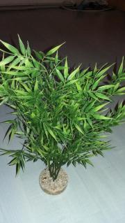 4 künstliche Wasserpflanzen