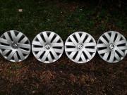4 x Original VW Radzierblenden