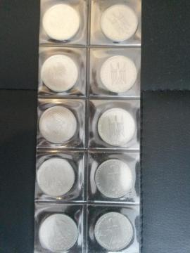 Münzen - 5 DM Gedenkmünzen über 40