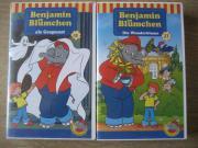 9 Benjamin Blümchen VHS-Kassetten Video-Kassetten