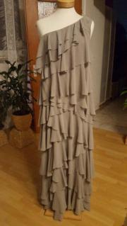 Abendkleid grau Gr.